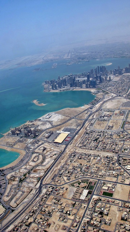 Another North-South view of Doha