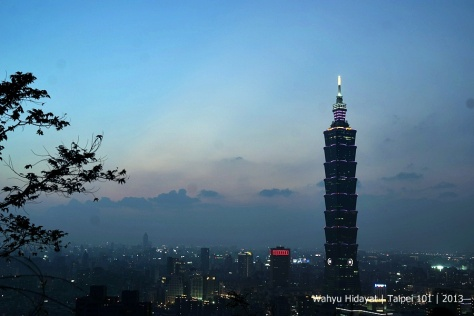 Taipei 101 from Elephant Hills