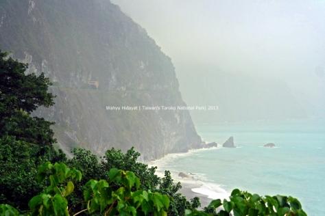 Qingshui Cliff from Chongde Shingle Beach