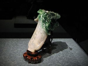 Jade Cabbage, one of the 'must see' collections in National Palace Museum