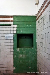 Used to be ticket counter for public bath. Beitou Hot Spring Museum