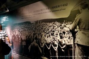 Prisoner of War. Gold mining workers. Gold Museum, Jinguashi Gold Ecological Park