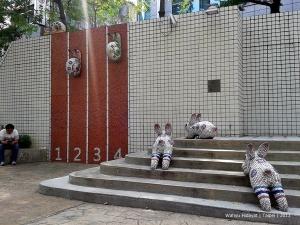 MOCA Outdoor Installation near Zhongshan MRT Station