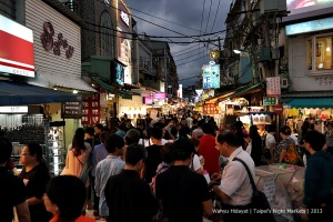 Night market can be overly crowded. Best time is half an hour before sunset