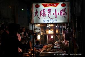 Bargain price snack at night market