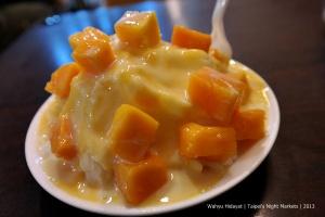Ice shaved mango