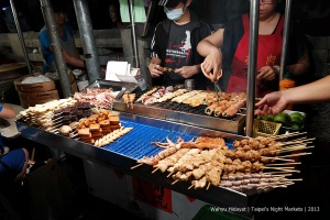 Grill is almost available in any night market