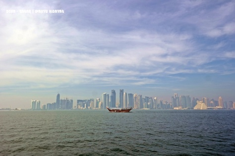 A familiar Doha picturesque view