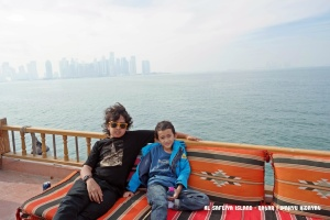 Faiq & Fathan on upper deck