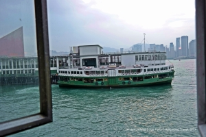 The legendary Star Ferry of Hong Kong