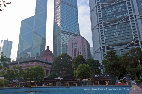 Bank of China Tower from Statue Square