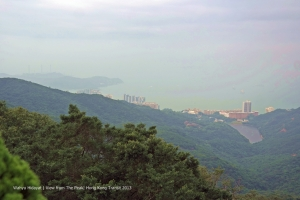 View from The Peak to Pok Lu Fam (south view)