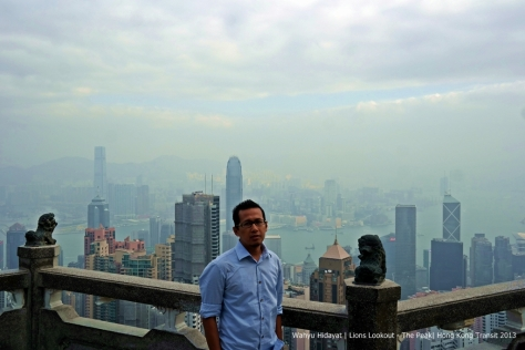 Hong Kong skylines from The Peak