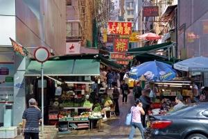A typical Hong Kong roadside
