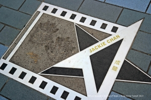 Jackie Chan at Avenue of Stars