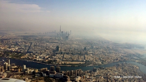 Dubai. Can you see Burj Khalifa?