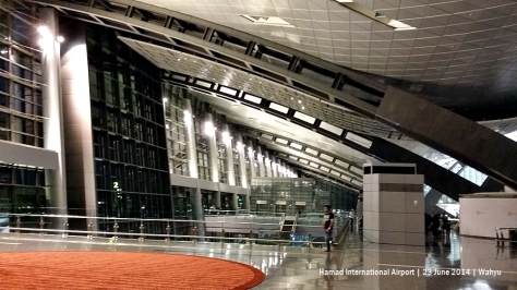 View to front façade from Premium Terminal