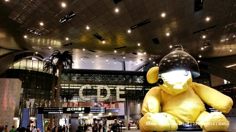 """Lamp Bear"" at HIA"