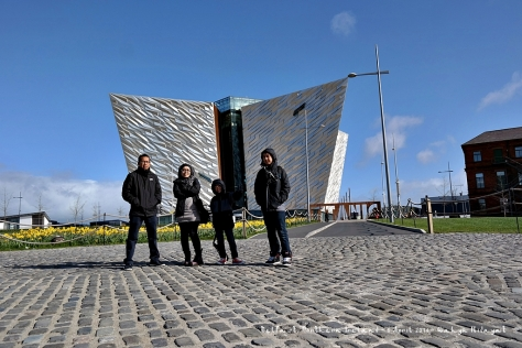 Titanic Belfast which houses Titanic Museum