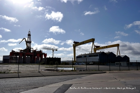 Samson and Goliath Cranes - landmarks of Belfast