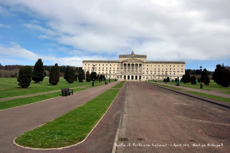 Belfast's Parliament Buildings or Stormont