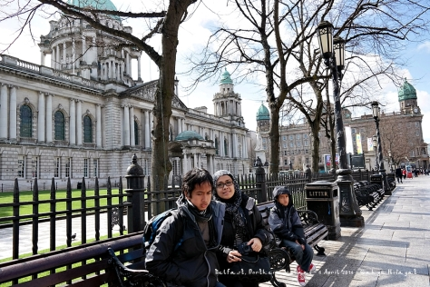 At Belfast City Hall