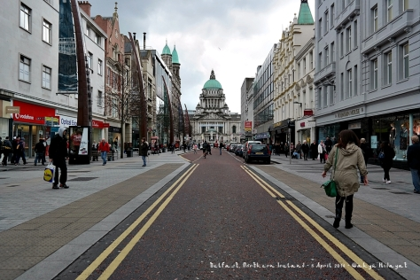 Belfast City Hall from Donegall Place
