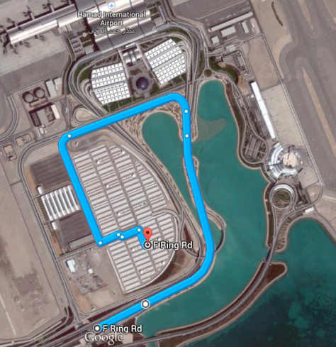 How to reach Employee Parking area