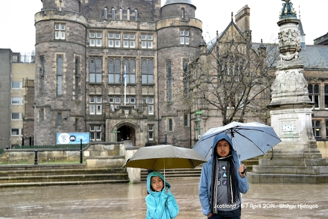 At University of Edinburgh