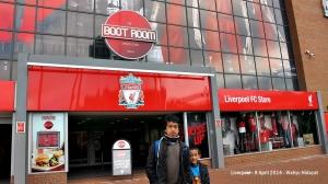 Liverpool FC's Anfield Stadium