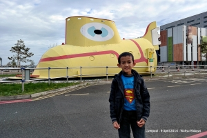 Yellow Submarine at John Lennon International Airport