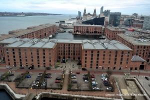Albert Dock from The Wheel of Liverpool
