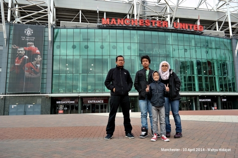 MU's Old Trafford Stadium