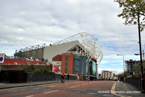 Old Trafford Stadium from distance