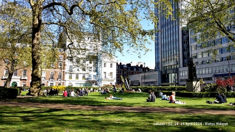 Cavendish Square Gardens,  off Oxford Street