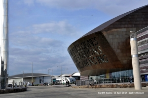 Wales Millennium Centre - Cardiff Bay for theatres, galleries, restaurants, bars, shops, free family fun and behind the scenes tours