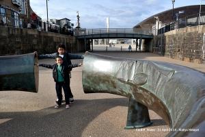 Roald Dahl Plass - Cardiff Bay
