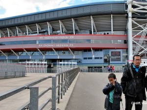 cardiff noodle street queen rugby Stadium, national team the union Millennium home of the Wales