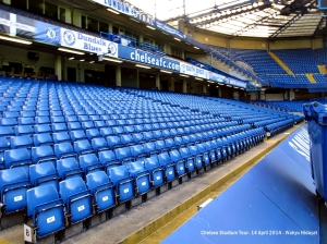 My seat is blue