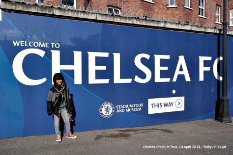 Fathan's dream to step on Stamford Bridge come true