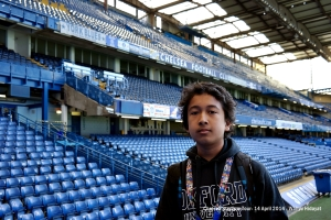 Faiq inside stadium