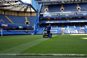 Pitch under maintenance