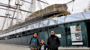 Cutty Sark, a British clipper ship