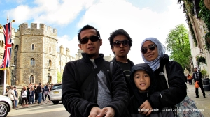 Wefie at Windsor Castle