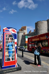 Kate Middleton phone box