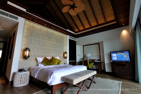 Main bedroom in the villa