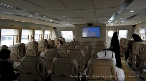 How it looks like inside the boat