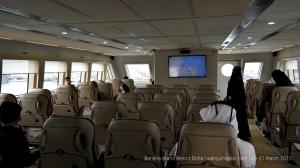 How it looks like inside the boat