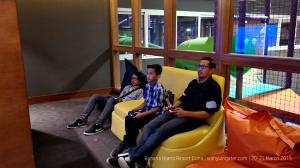 Teens Club and adjoining children club