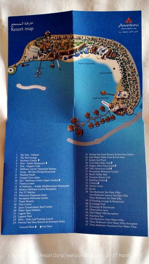 Banana Island map. This was a part of welcome package.
